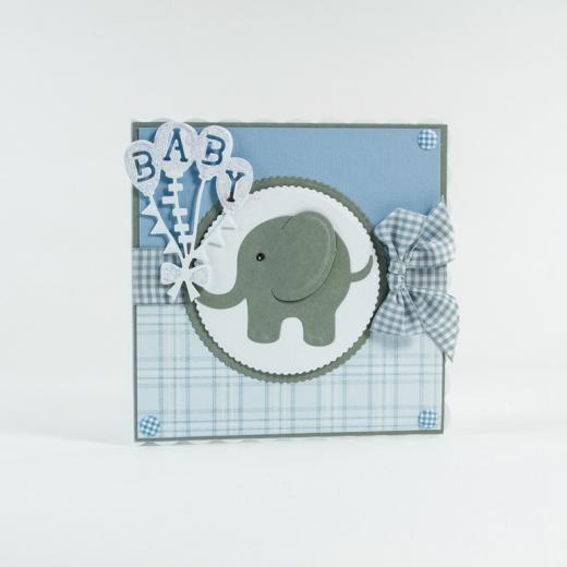Tonic Studios - Rococo Baby Die - Adorable Elephants - £6.99 - A Great Range of…