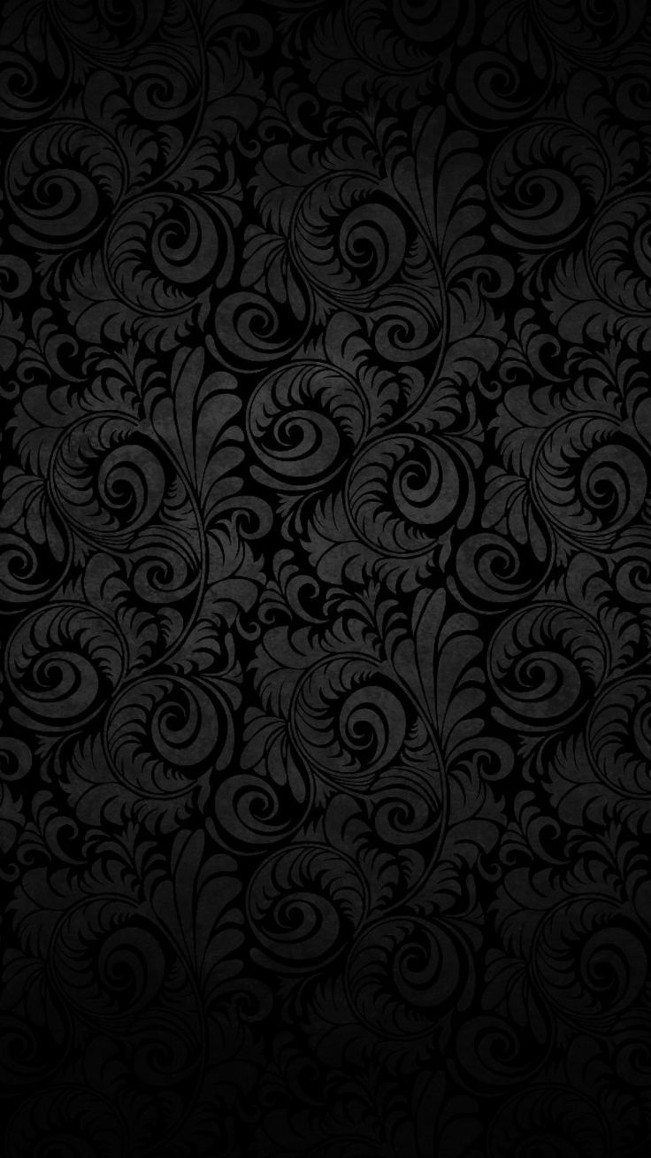 IPhone 6s Black Flower Abstract Wallpaper HDiPhone