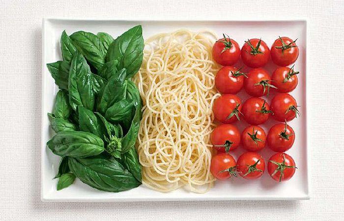 italia e pasta