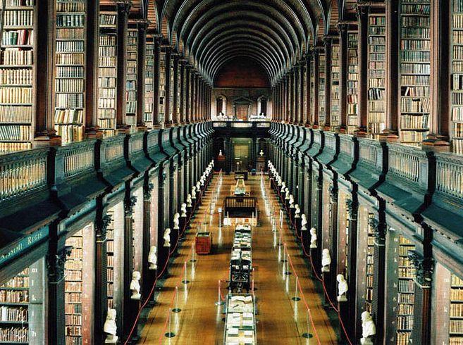 Trinity College Library at University of Dublin — Dublin, Ireland