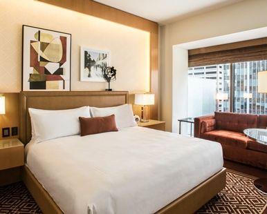 Conrad Chicago Hotel, IL - King Bed and Sofa Seating | IL 60611