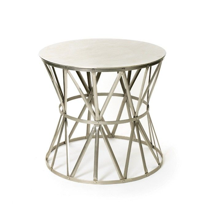 Steel Angle Table Stylish Angle Table ,made from steel, this multifunctional two-level accent piece can be used in a variety of ways - extra seating for guests, convenient sofa table for lamps and books, easy display for potted plants and flowers.