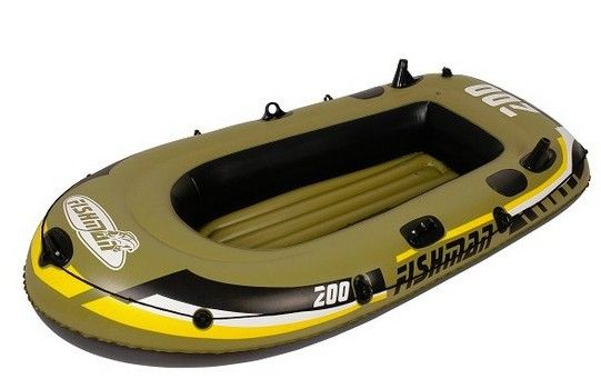 Bateau Gonflable Fishman 200 - 1 adulte et 1 enfant a prix reduit - LeKingStore