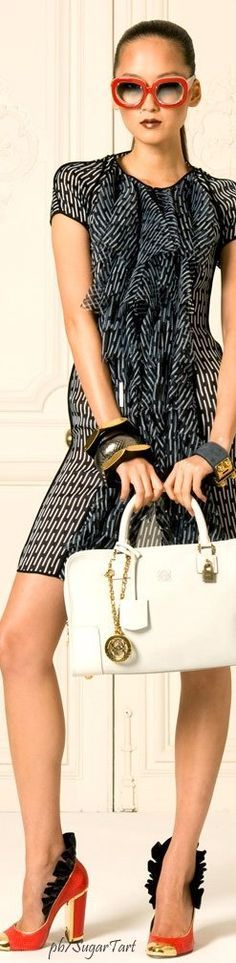 @roressclothes closet ideas women fashion outfit clothing style apparel Loewe Spring 2009