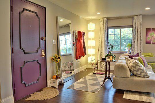 "Marissa's ""Radiant Plum"" Room — Room for Color Contest"