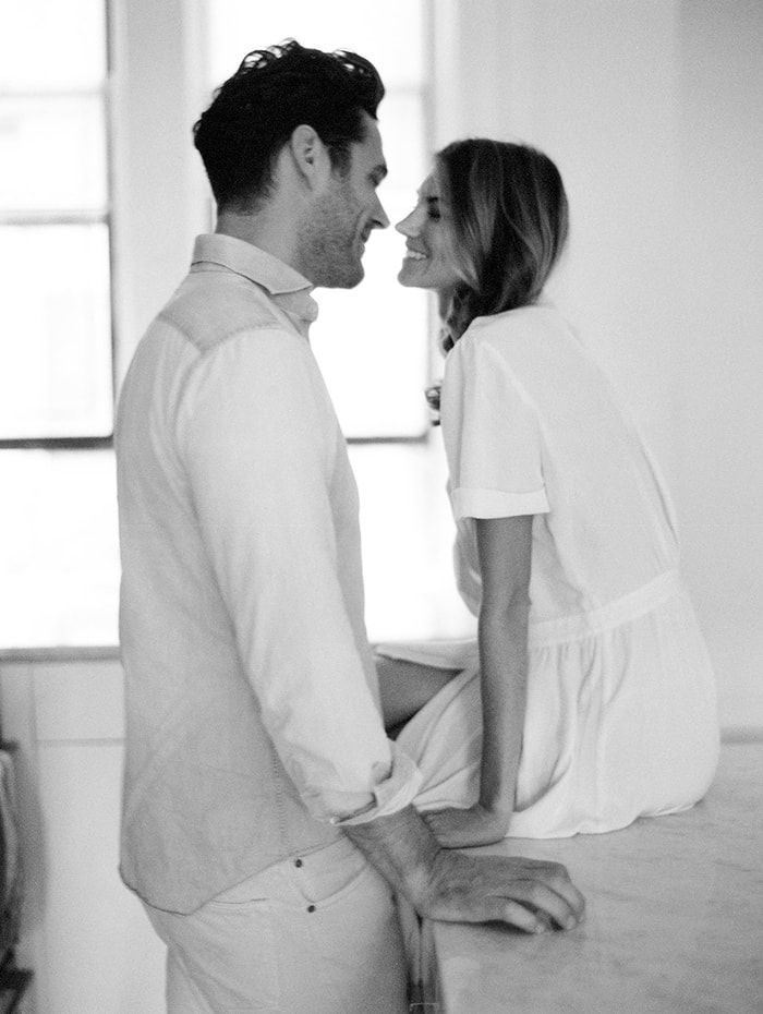 Authentic Engagement Photos at Home - Once Wed