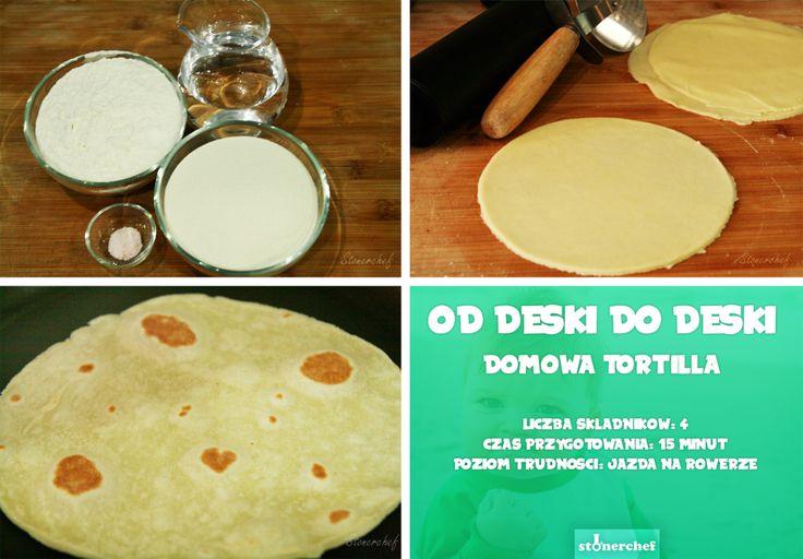 Od deski do deski: Domowe placki tortilla które nigdy się nie łamią