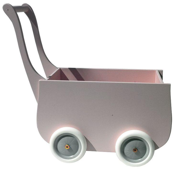 Liggvagn rosa