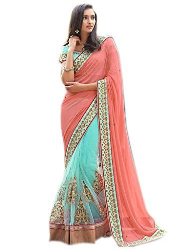 Shoppingover Bollywood Saree with Blouse in Georgette&Net... https://www.amazon.com/dp/B01LWUPOZQ/ref=cm_sw_r_pi_dp_x_S7m4xbG587SDY