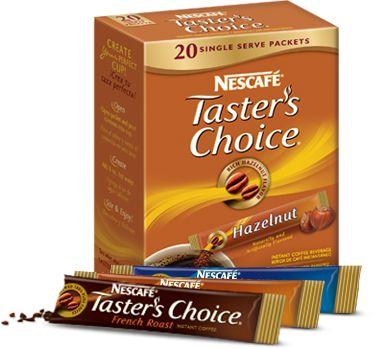 FREE Tasters Choice Sample Pack!