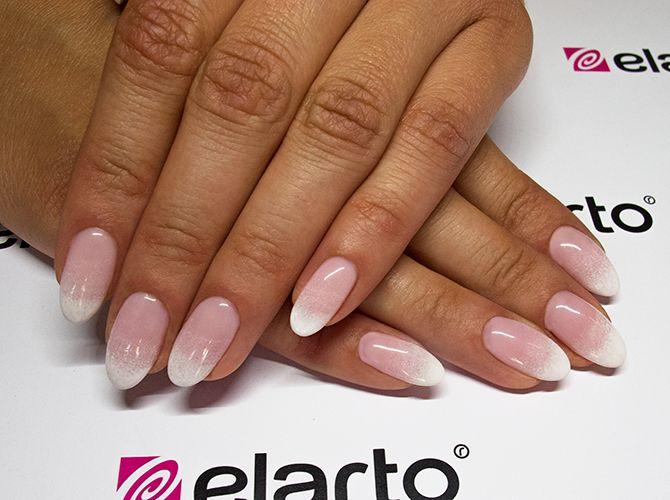 Created by: -Gel Basic Pink: https://elarto.pl/zel-rozowy-mleczny/14265-elarto-zel-sredniogesty-rozowy-mleczny-basic-pink-5g.html -Gel Cover Pink: https://elarto.pl/zel-kamuflaz-cover/4713-elarto-zel-sredniogesty-rozowy-kamuflaz-15-g.html -Ultra White Gel Paint: https://elarto.pl/zel-bialy-do-french-zdobien/14273-elarto-zel-bialy-ultra-white-gel-paint.html