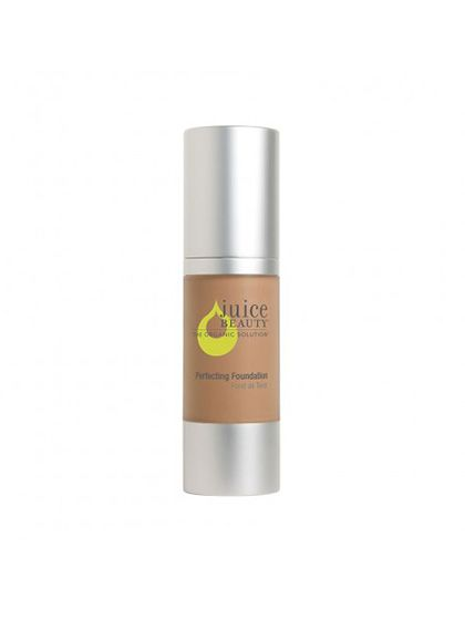 """Juice Beauty Perfecting Foundation """"They make a great foundation, but they don't have the perfect shade for my skin so we mix two colors together. I use this on movies a lot as well."""""""