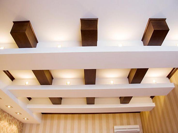 Дизайн потолков с деревянными балками новый интерьер помещения