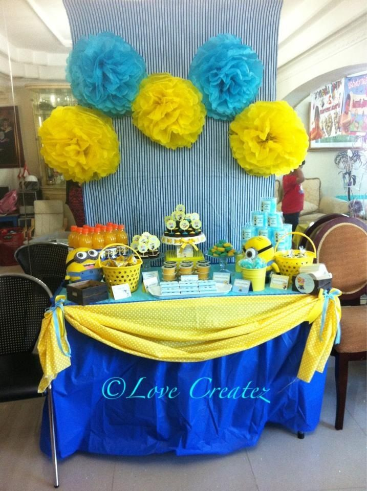 17 Best Images About Minion Birthday Theme On Pinterest