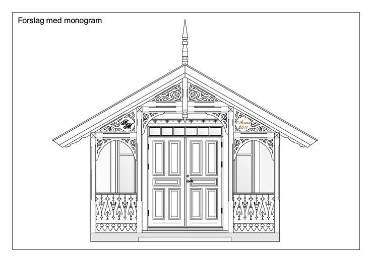 tegninger sveitserhus detaljer - Google-søk