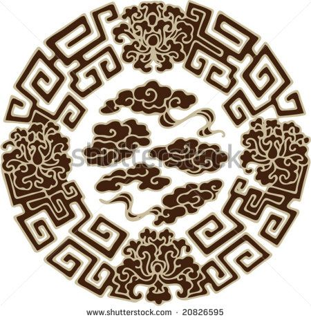 Traditional asian patterns