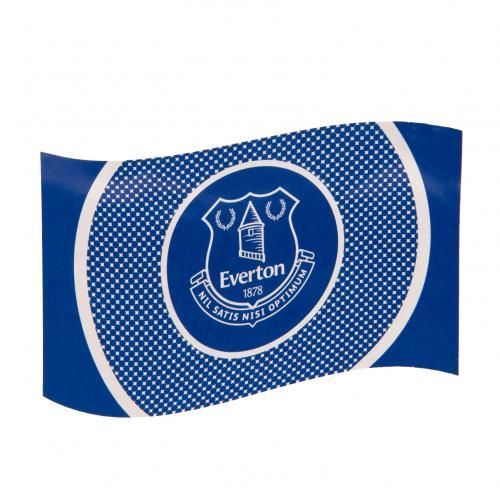 Large Everton flag in club colours and featuring the iconic club crest in a contemporary bullseye design. FREE DELIVERY on all of our gifts