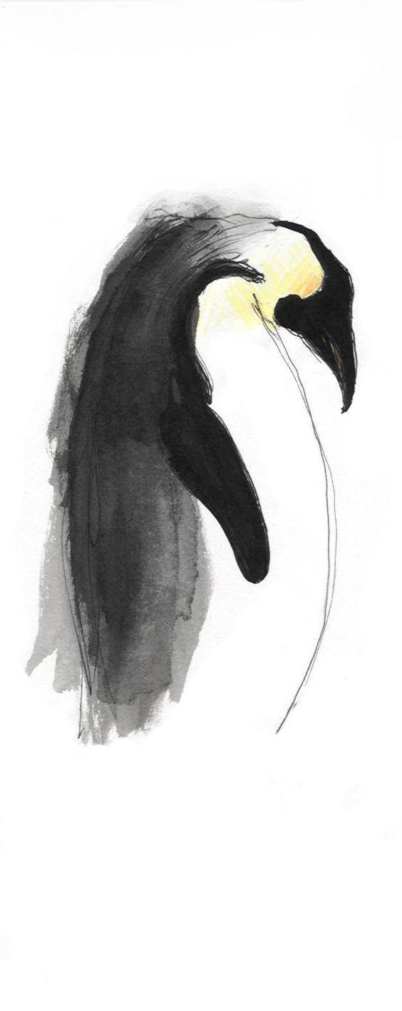 Emperor Penguin by ~zeeloo on deviantART
