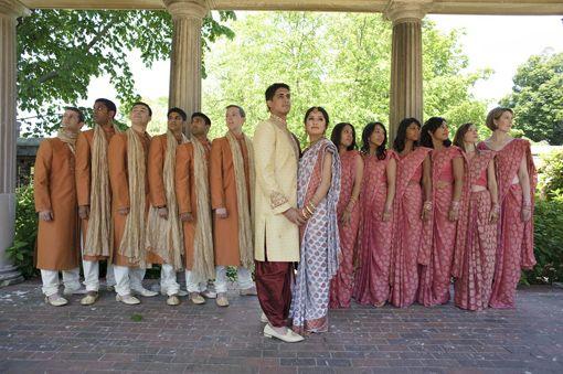Indian Bridesmaids & Groomsmen