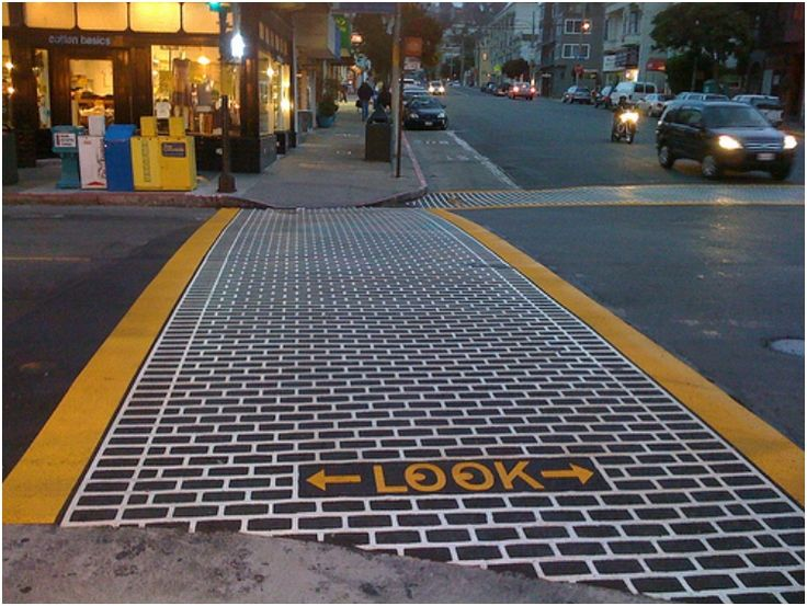 28 Pedestrian Crossings Turned Into Urban Arts And Ads