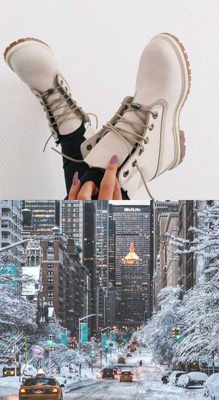 trapery, béžové trapery, topánky na zimu, mesto, new york, usa, nails, naj.sk