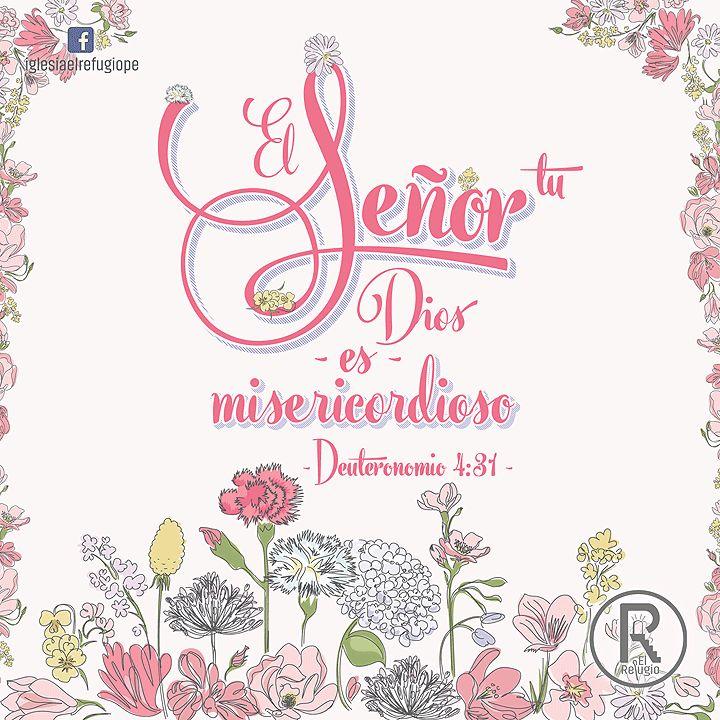 Deuteronomio 4:31 Porque Dios misericordioso es Jehová tu Dios; no te dejará, ni te destruirá, ni se olvidará del pacto que les juró a tus padres.♔