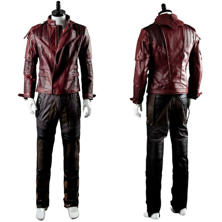 Guardians of the Galaxy 2 Peter Jason Quill Starlord Jacket Cosplay  Costumes