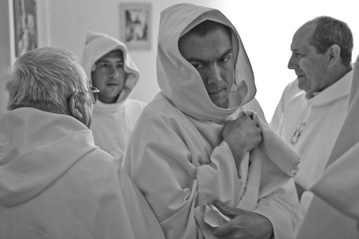 Bracia. fot. Marcin Mituś #dominikanie #op #bracia #zakon #habit