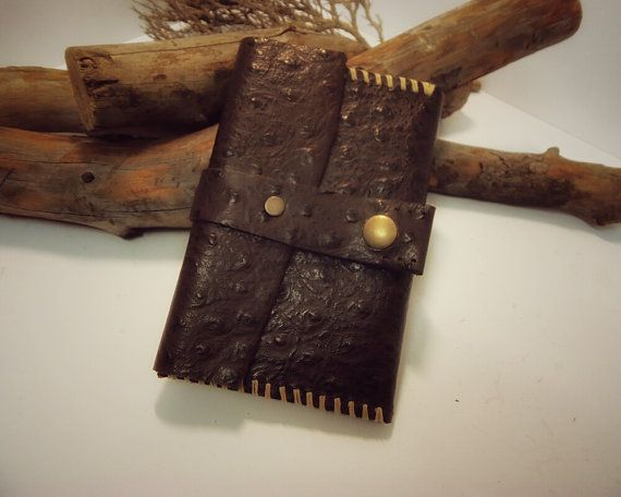 leather moleskine cover leather journal by VakalisCreations