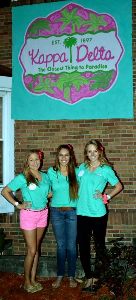 Lilly Themed Bid Day with the Fam. TSM.