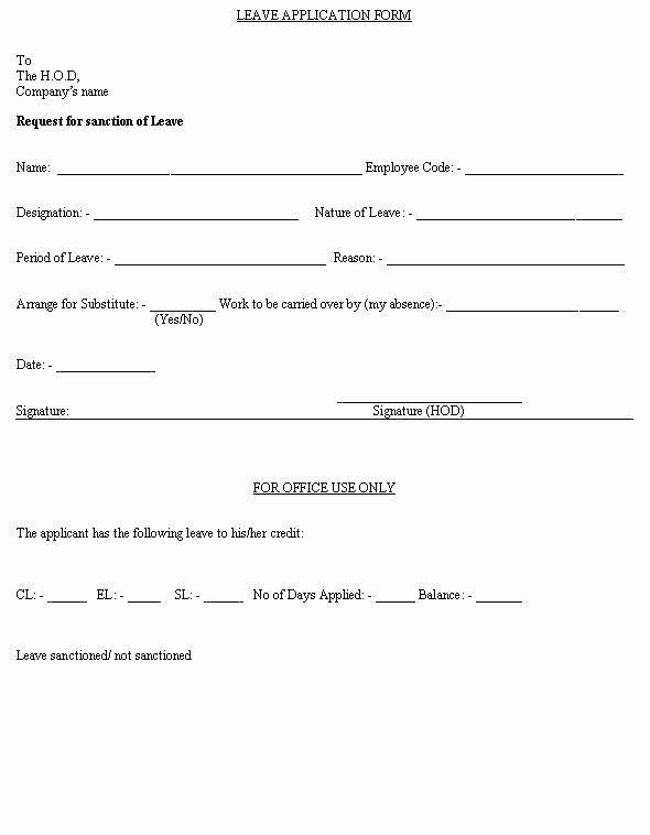Sick Leave Form Template Elegant Employee Sick Leave Form Template Free Templates South Africa In 2020 Templates Order Form Template Survey Template