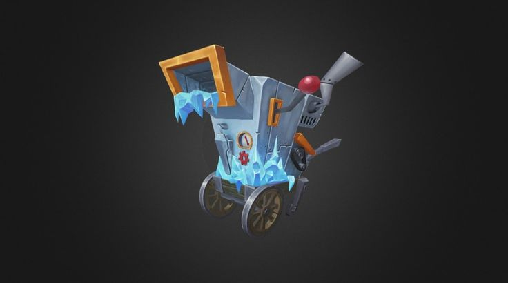 Ice Cart Trap by robbiereed