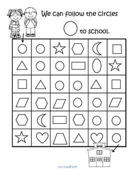 23 best shapes activities images on pinterest preschool forms preschool shape crafts and. Black Bedroom Furniture Sets. Home Design Ideas