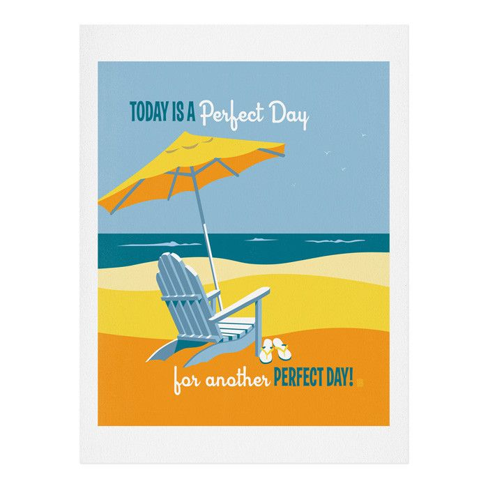 Anderson Design Group Another Perfect Day Art Print | DENY Designs Home Accessories