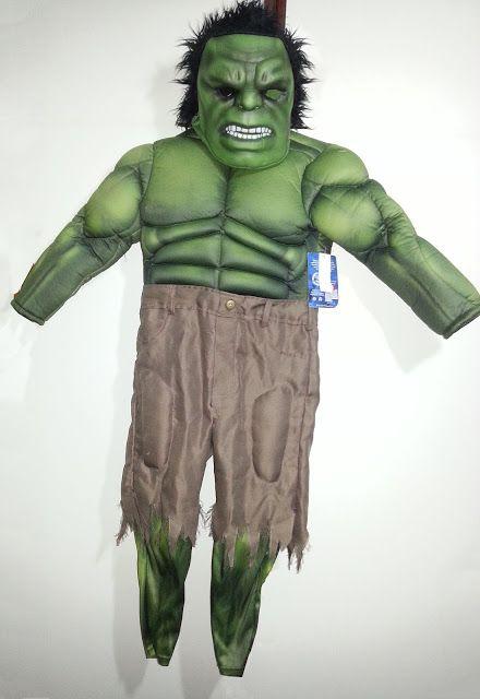 Fantasia Incrível Hulk Infantil