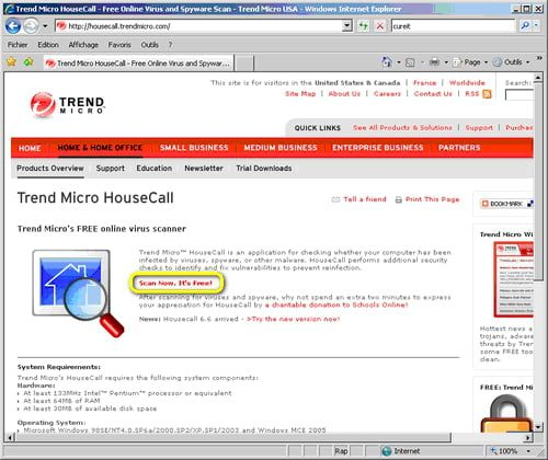 How to use Trend Micro online virus scanner Trend Micro