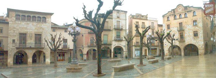 Tarragona Montblanc - Plaça Major