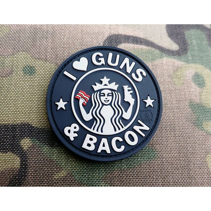 JTG - Guns and Bacon Patch, swat / 3D Rubber patch