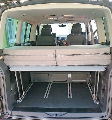 vw t5 t6 matratze multiflexboard schlafunterlage bett lotterleben matratze bett und vw t5. Black Bedroom Furniture Sets. Home Design Ideas