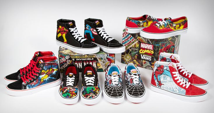Marvel x Vans OTW Collection - KicksOnFire.com