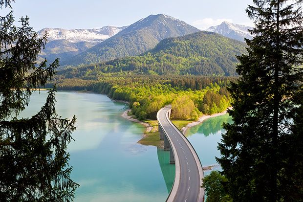 A Magical Road In The Bavarian Alps Feature Shoot Oh