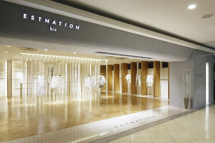 ESTNATION bis by Moment Design, Tokyo store design                                                  youtube downloader