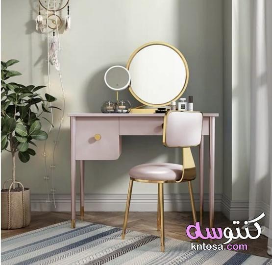 تسريحات غرف نوم ناعمة تسريحات غرف نوم بنات 2021 Modern Vanity Table Luxury Pillows Stylish Decor