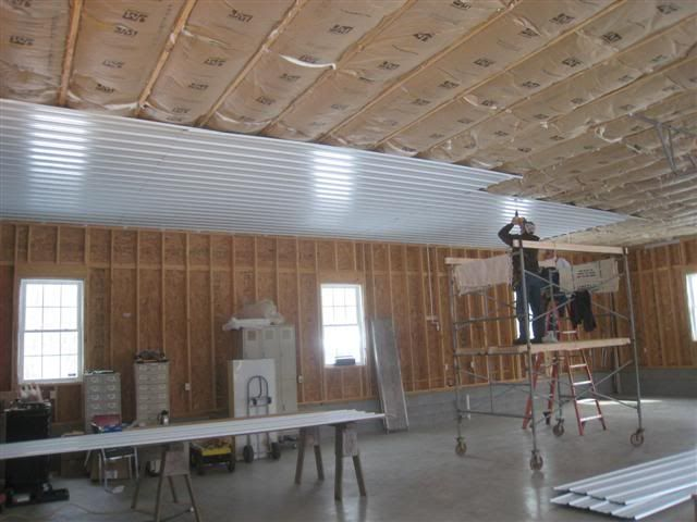 Corrugated Steel For Garage Ceiling The Garage Journal