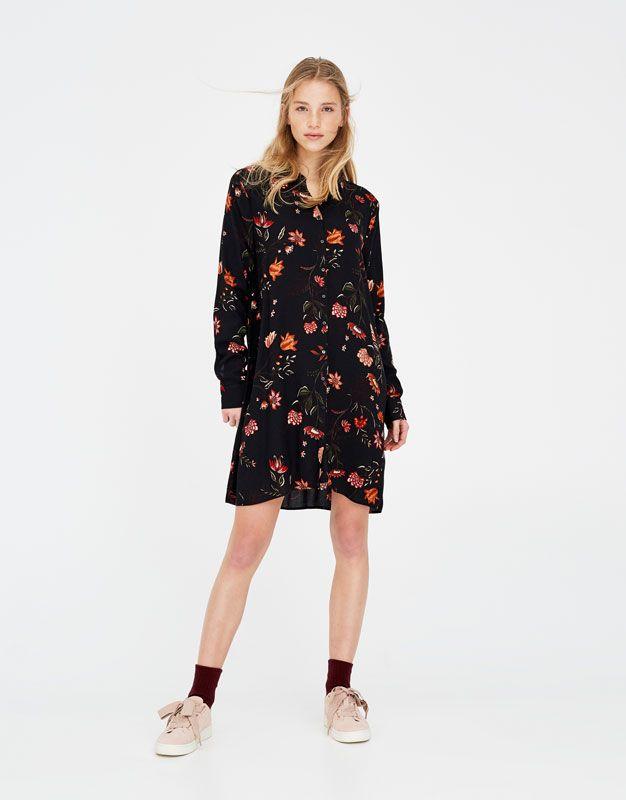 8501f64fd39 Robe chemise imprimée