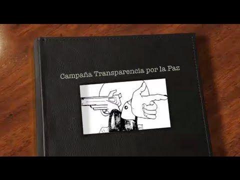 Video oficial campaña Transparencia por la Paz