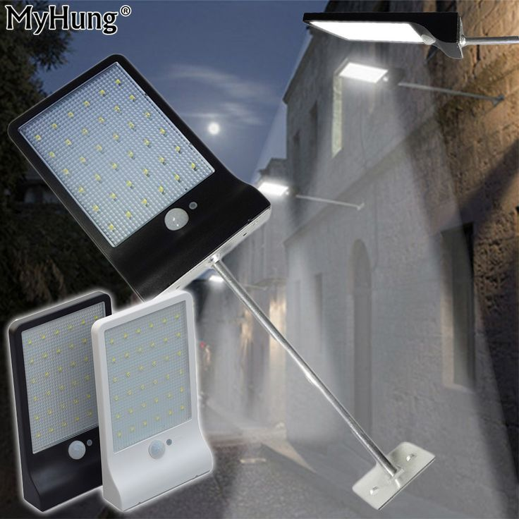 Newest 36 LED Solar Power Street Light Outdoor Street Waterproof Wall Lights PIR Motion Sensor Garden Security Lamp 450LM family room design