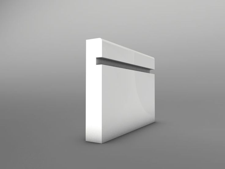 Groove 1 MDF Skirting Board 15mm