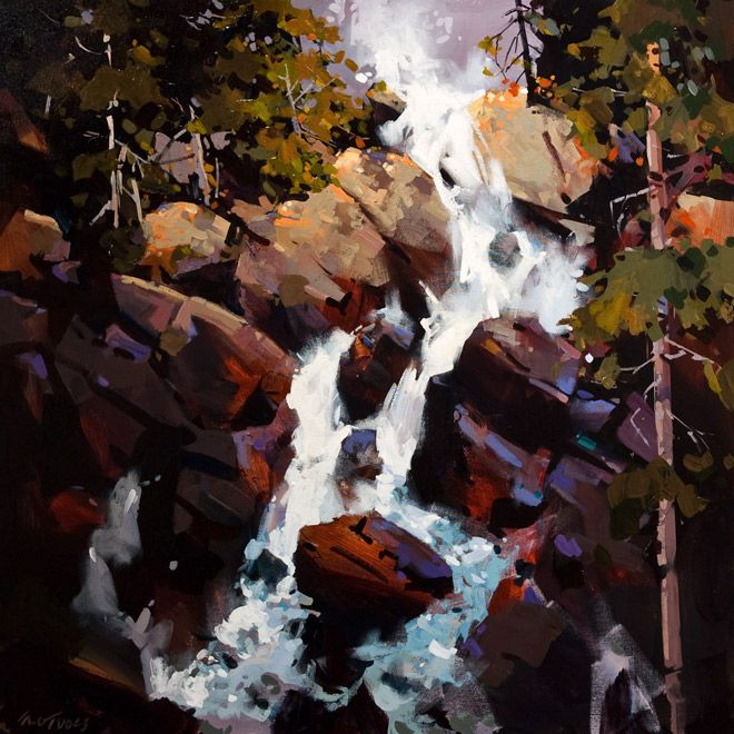 Ochre Rock Falls, by Michael O'Toole