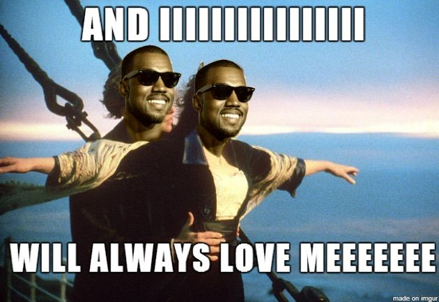 The best collection of Kanye West Memes